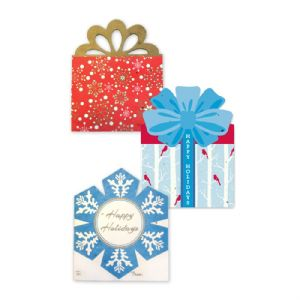 Plantable Gift Card Holders-Holiday