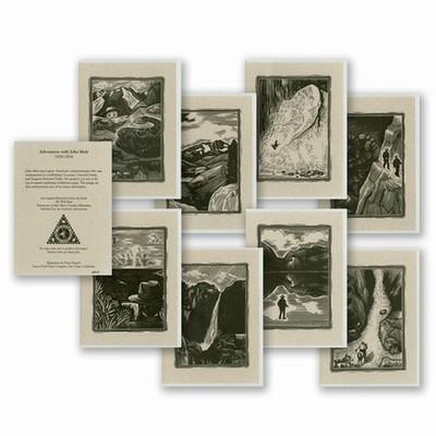 John Muir 12 Organic Cotton Card Variety Pack