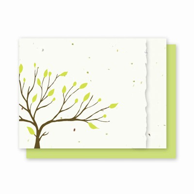 Grow-A-Note® Tree with Deckled Edge