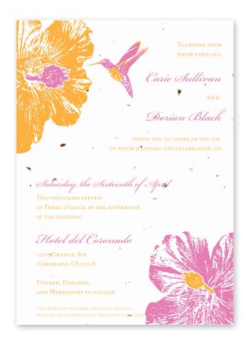 Hummingbird Hibiscus Panel