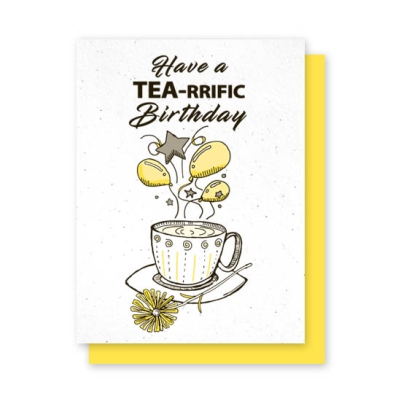 Grow-A-Note®  Have a Tea-rrific Birthday
