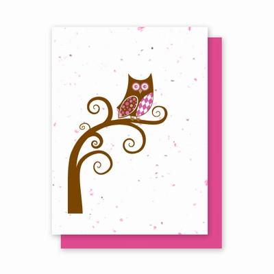 Grow-a-Note® Argyle Owl