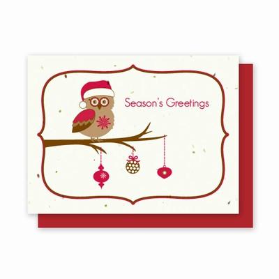 Grow-A-Note® Owl Card