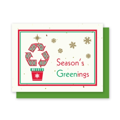 Grow-A-Note® Season's Greenings