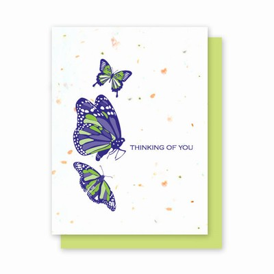 Grow-a-Note® Thinking of You Butterflies