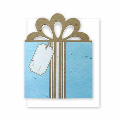 Grow-A-Note® Personal Touch Gift Card Holder™ Tiffany/Gold 4 Pack