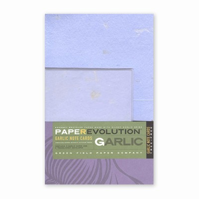 PaperEvolution® Note Set- Gilroy Garlic, Lavender