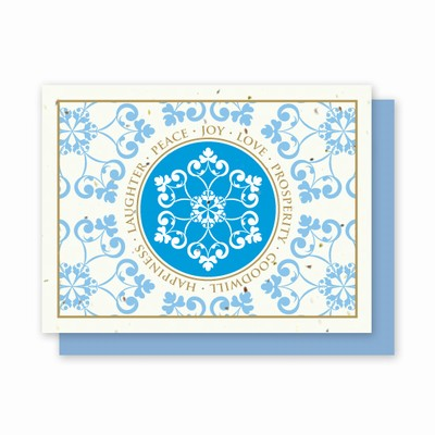 Grow-a-Note® Snowflake Wishes