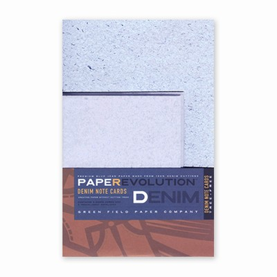 PaperEvolution® Note Set- Recycled Denim
