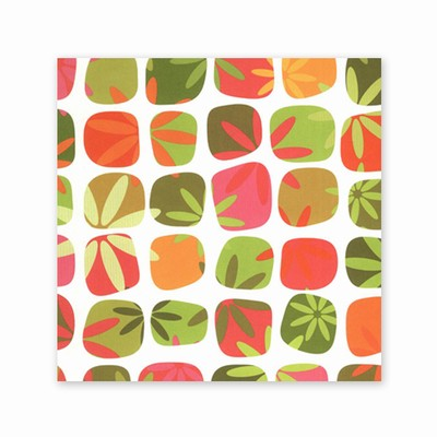 100% Recycled Gift Wrap- Flower Power