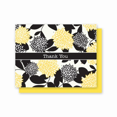 Grow-A-Note® Thank You Chrysanthemum