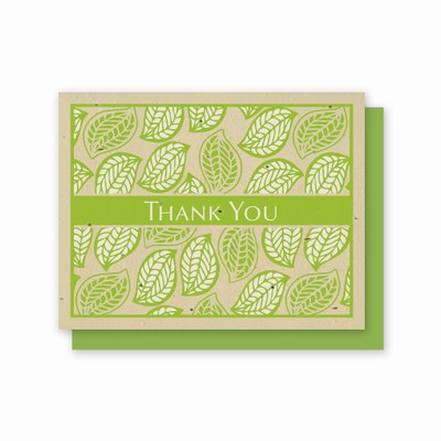 Grow-A-Note® Thank You Leaves