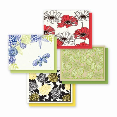 Grow-A-Note® A2 All Occasion Floral Chic Variety Pack
