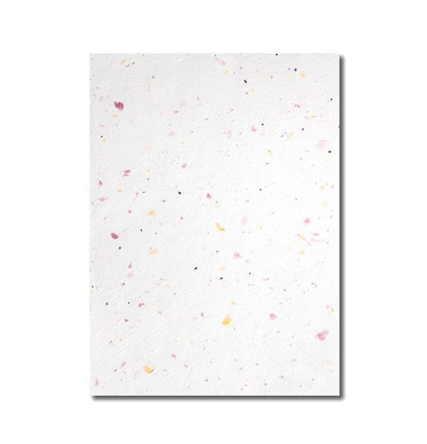 Grow-a-Note® Sheet Speckled Pink and Yellow
