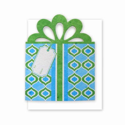 Grow-A-Note® Personal Touch Gift Card Holder™ Blue/Green 4 Pack