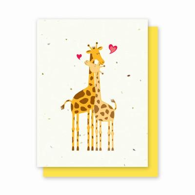 Grow-a-Note® Giraffes in Love