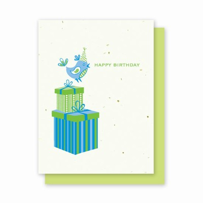 Grow-a-Note® Birthday Bird