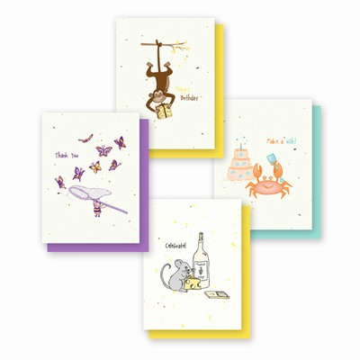 Grow-a-Note® Simply Whimsical Variety Pack
