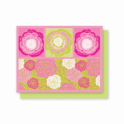 Grow-A-Note® Hot Pink Flora All Occasion