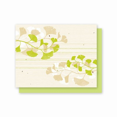 Grow-A-Note® Ginkgo All Occasion