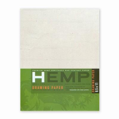 Hemp Heritage® Drawing Paper Art Pack, Medium 8.5