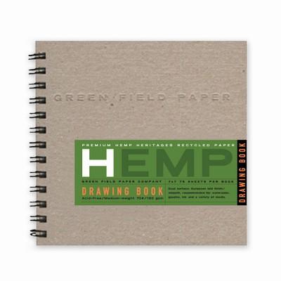 Hemp Heritage® Drawing Book, Medium