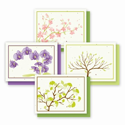 Grow-A-Note® A6 Landscape Variety Pack