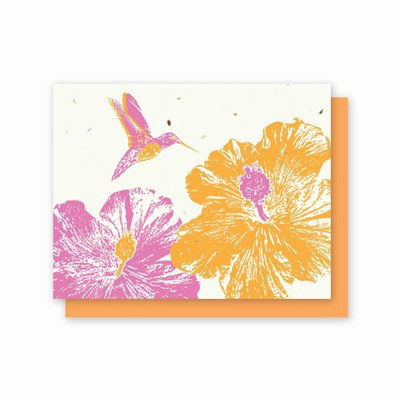 Grow-A-Note® All Occasion Hummingbird Hibiscus
