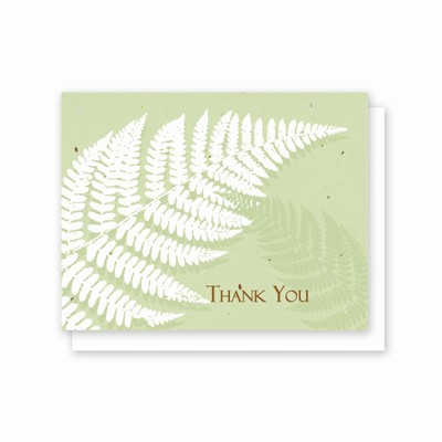 Grow-A-Note® Thank You Fern