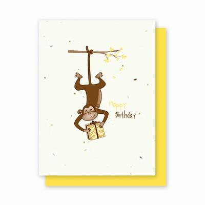 Grow-a-Note® Happy Birthday Monkey