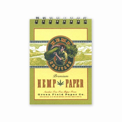 Hemp Heritage® Sketch and Drawing Book, Mini