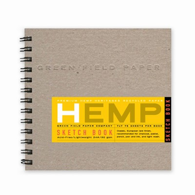 Hemp Heritage® Sketch Book, Medium