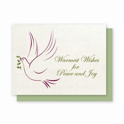 Hemp Heritage® Dove Holiday Card