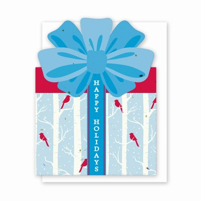 Grow-A-Note® Personal Touch Gift Card Holder™ Holiday Birch Trees