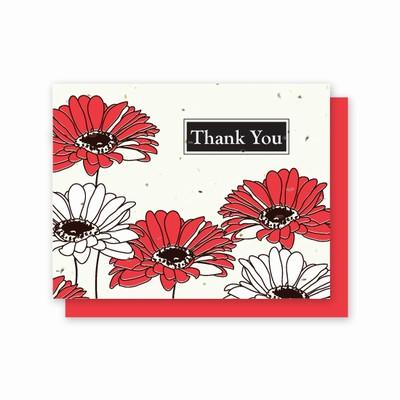 Grow-A-Note® Thank You Gerber Daisy