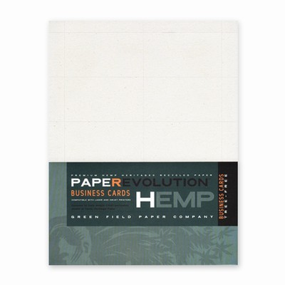 Hemp Heritage® Blank Business Cards Pack