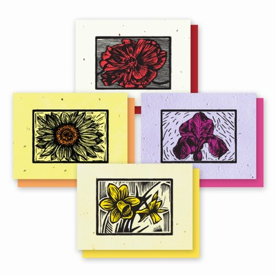 Grow-a-Note® Woodcut Variety Pack