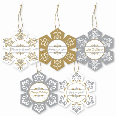 Grow-A-Note® Plantable Snowflake Ornaments Variety Pack