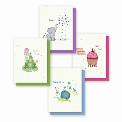 Grow-a-Note® Simply Whimsical Occasion Cards Variety Pack