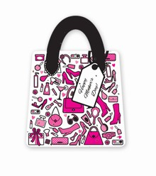 Gift & Grow Mothers Day Purse Gift Card Holder Girly