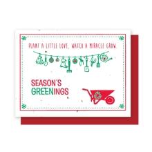 Grow-A-Note® Love, Grow Seasons Greenings
