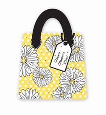Gift & Grow Mothers Day Purse Gift Card Holder Daisy