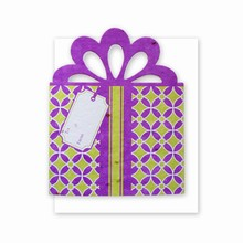 Grow-A-Note® Personal Touch Gift Card Holder™ Purple/Green 4 Pack