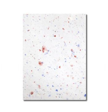 Grow-a-Note® Sheet Speckled Red, White & Blue