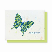 100% Junk Mail® Recycle Butterfly
