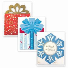 Grow-A-Note® Personal Touch Gift Card Holder™ Holiday 3 Pack