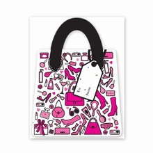 Gift & Grow Purse Gift Card Holder Girly