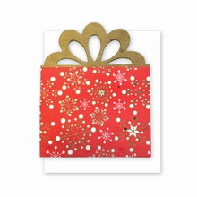 Grow-A-Note® Personal Touch Gift Card Holder™ Red Present