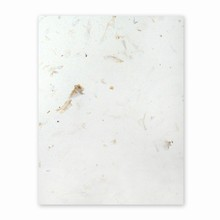 PaperEvolution® Handmade Sheet- Gilroy Garlic, Natural White