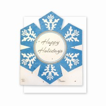 Grow-A-Note® Personal Touch Gift Card Holder™ Snowflake